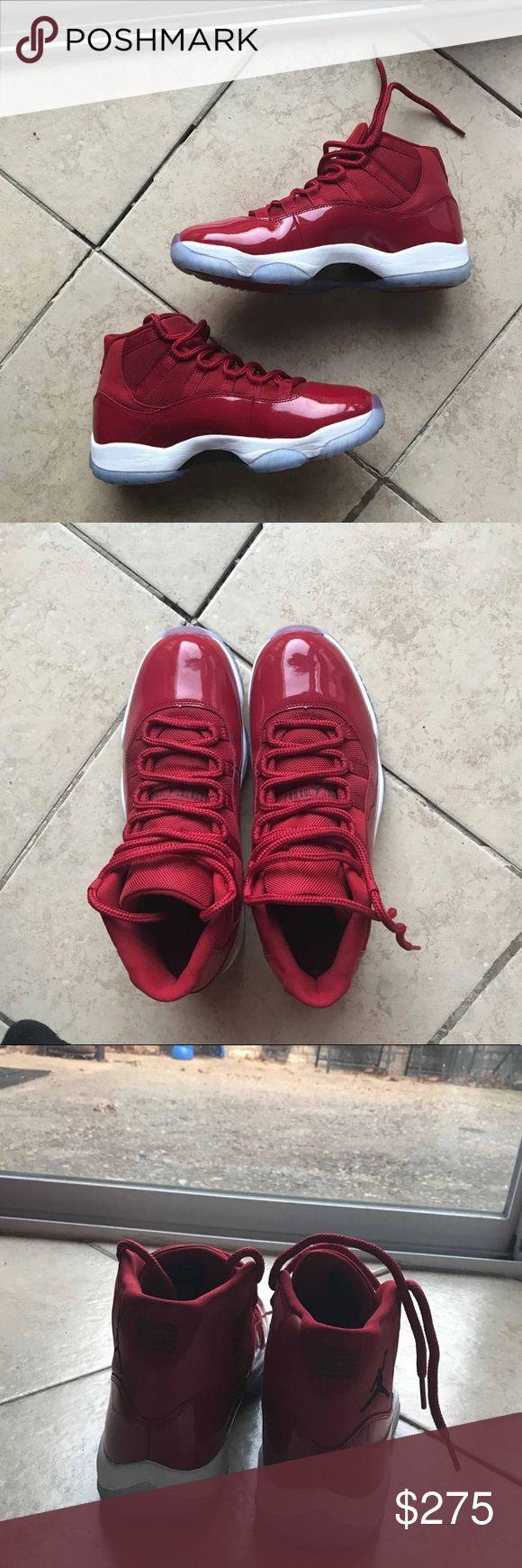Jordan 11 Win like 96 gym red