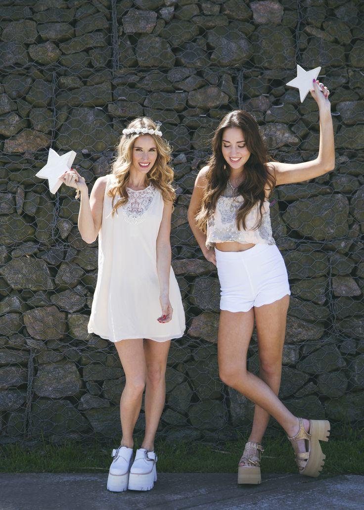 Look del día 35 Shining stars!  Fotos: Anita Thomas  Modelos: Isa Bullrich y Bren Di Aloy Estilismo: Agus Arca Pelo y Makeup: Make it up
