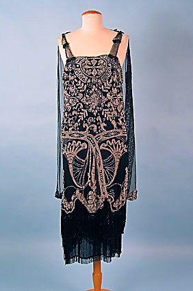 1920s Beaded Gown. @Deidra Brocké Wallace