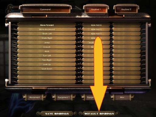 Bioshock customise keys menu