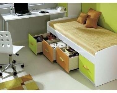 Las 25 mejores ideas sobre cama 1 plaza en pinterest for Divan cama con cajones 1 plaza