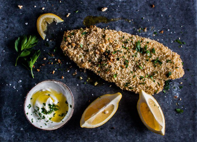 Honey dijon panko crusted basa - a healthy 30 minute meal that is ideal for a busy weeknight. This recipe will work with any white fish if you can't find basa.
