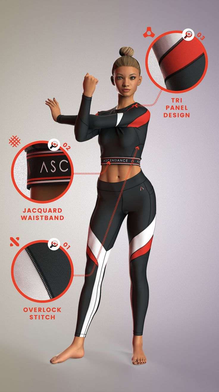 Futuristic Activewear OOTD Workout clothes brands