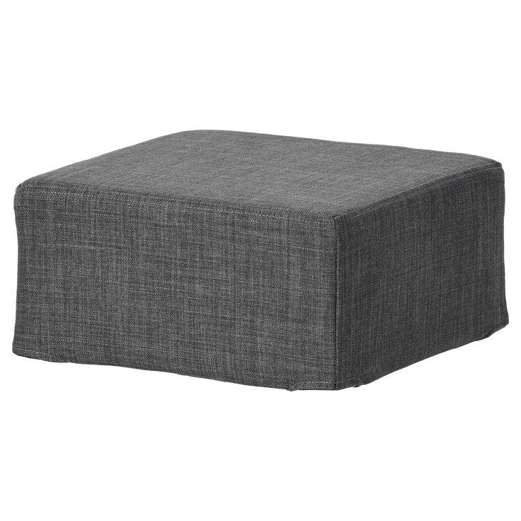 IKEA - NILS Stool cover Skiftebo dark gray