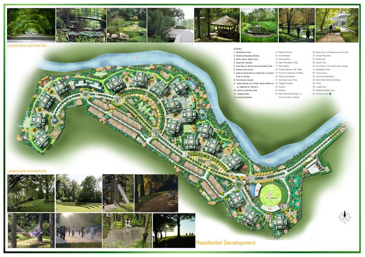 #landarch #urbandesign LANDSCAPE CONCEPT DESIGN by ~Israkers on deviantART