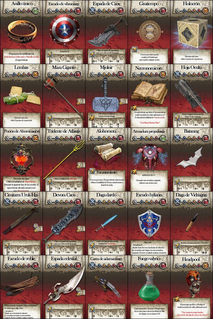 Objetos Para Zombicide Black Plague By Yotex2 On Deviantart Jogos De Tabuleiro Rpg Ideias Para Desenho