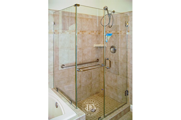 Luxury towel Bar for Glass Shower