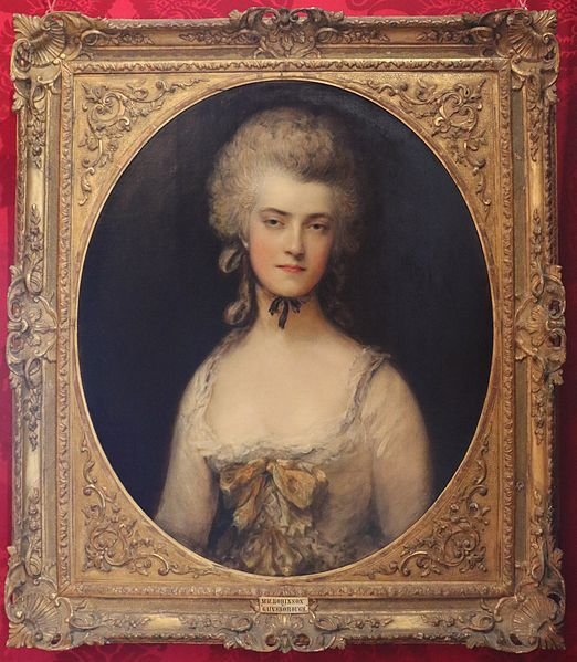 "Mrs Mary Robinson,poet,by Thomas Gainsborough. 1781.Throughout much of her life she struggled to live in the public eye and also to stay true to the values in which she believed.She eventually gave in to her desires to be with a man whom she thought would treat her better than Mr. Robinson.However, the Prince ended the affair in 1781,refusing to pay the promised sum.""Perdita"" Robinson was left to support herself through an annuity promised by the Crown (but rarely paid),in return for some letter"