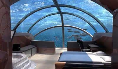 Poseidon Undersea Resort (Fiji): an underwater hotel