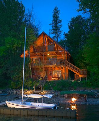 111 Best Cabin In The Woods Images On Pinterest Log
