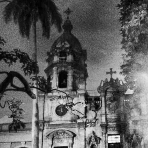 Iglesia San Ignacio. Plazuela de San Ignacio. Medellin