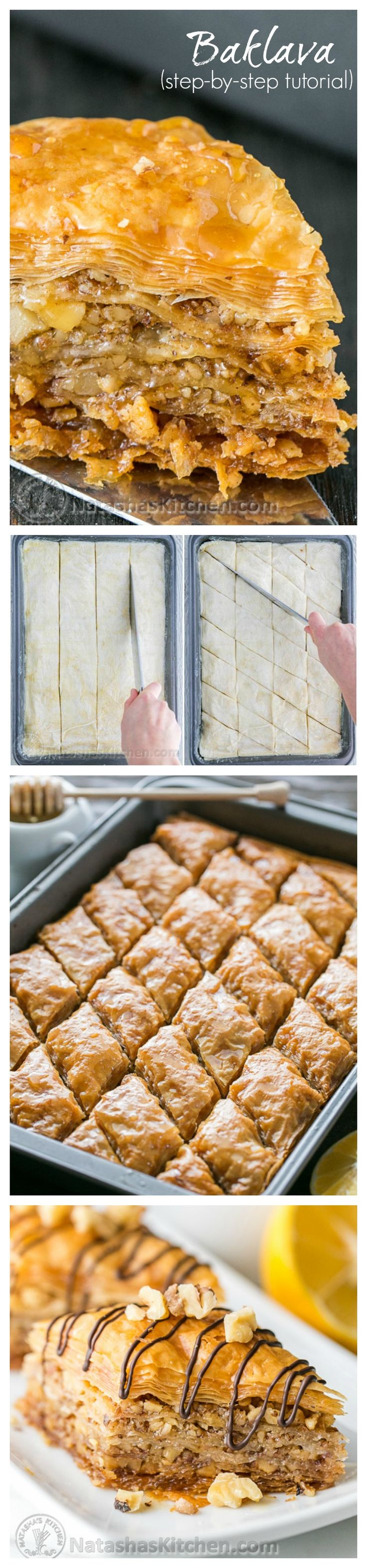 Baklava - This baklava is flaky, crisp, tender and I love that it's not overly sweet. No store-bought baklava can touch this!