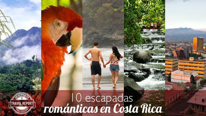 10 escapadas románticas de Costa Rica