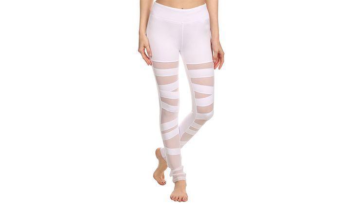 MONOQI | Ballerina Lace Leggings - Weiß