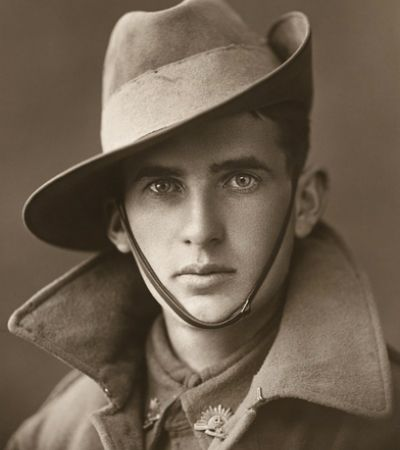 25 Faces of Australian WW1 Soldiers