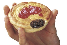 The Australian Meat Pie.  So Yummy.