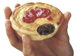 The Australian Meat Pie.  I want one!!!