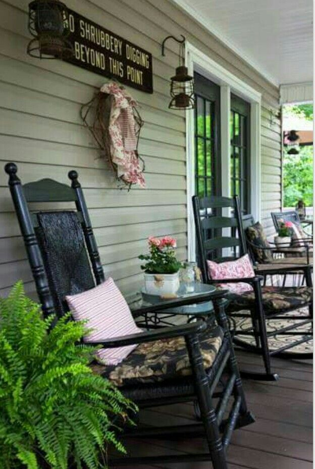 Inviting Porches And Decks Pinterest Porch And Front