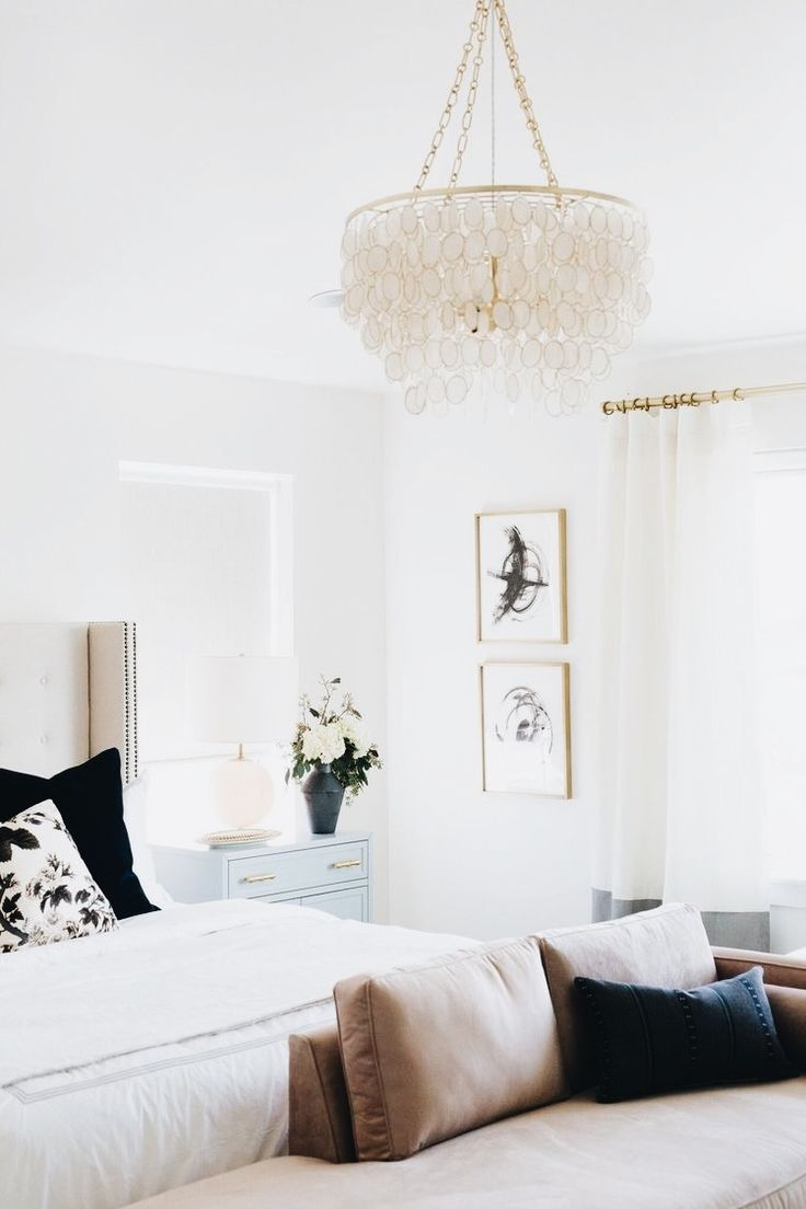 Best 25 master bedroom chandelier ideas on pinterest master gorgeous chandelier and loving all the gold accents arubaitofo Gallery