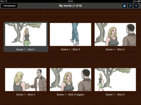 Storyboards app- great for planning narrative for film, creative writing, general planning - useful during the develop phase of inquiry.