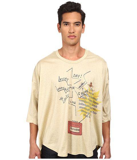 VIVIENNE WESTWOOD Fracking Oversize T-Shirt. #viviennewestwood #cloth #shirts & tops