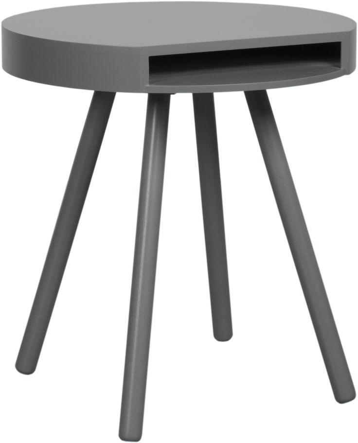 Hide And Seek Grey Side Table