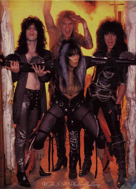 "W.A.S.P. ~ ""Blind in Texas"" Tour ~ Opening act for Kiss ~ Freedom Hall Civic Center, Johnson City, TN ~ 1986"