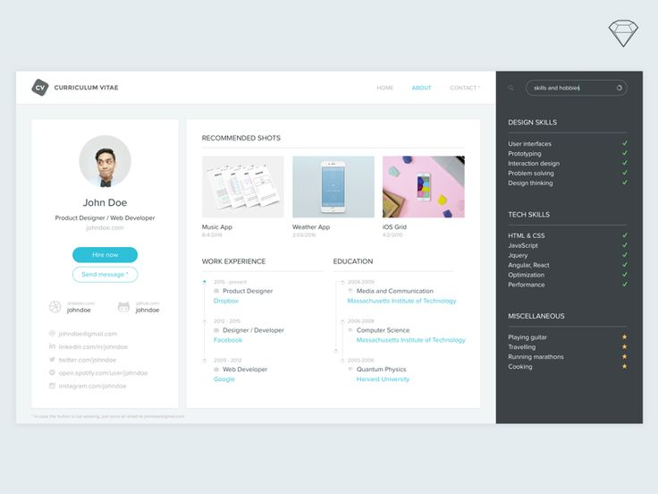 25 best Free SVG Resources images on Pinterest Template, Hue and - gui designer resume