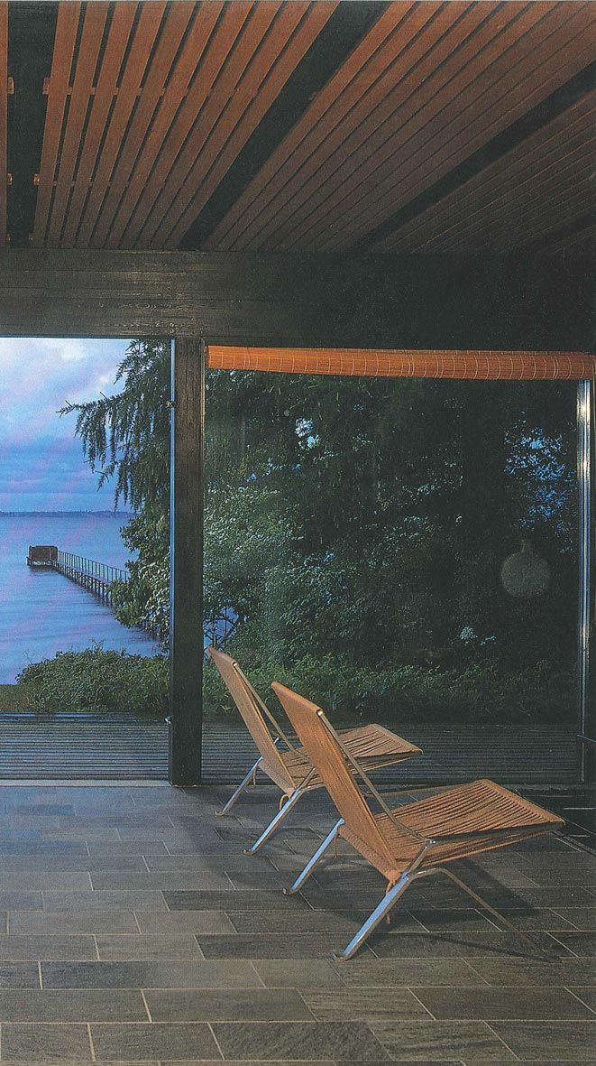 Halldor Gunnlogsson, Own House - 1958