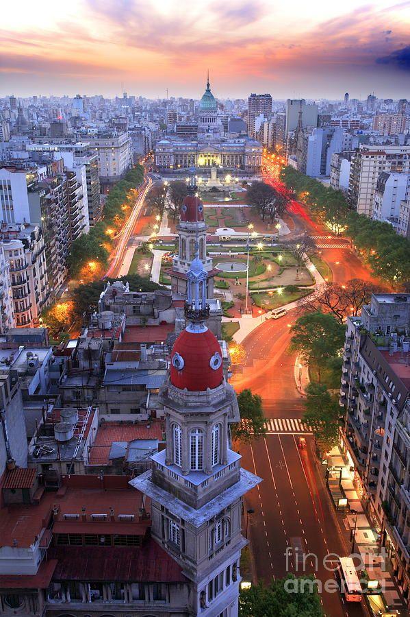 Argentina National Congress, Buenos Aires, Argentina