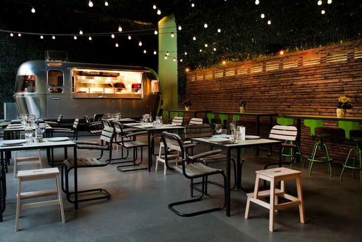OUR MIAMI CHAIRS IN THE NEW 48 URBAN GARDEN RESTAURANT IN ATHENS!