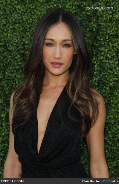 Maggie Q- I'm a fan of her subtle hair color.