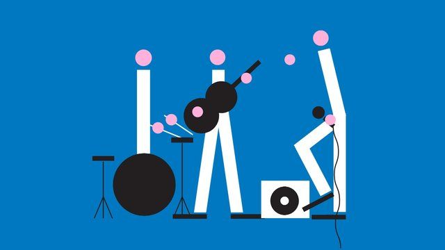 2D Band design by: Jonathan Calugi animation by: Simone Brillarelli