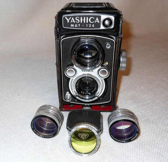 Vintage Yashica MAT124 Twin Lens Reflex Camera by 2cool2toss, $395.00