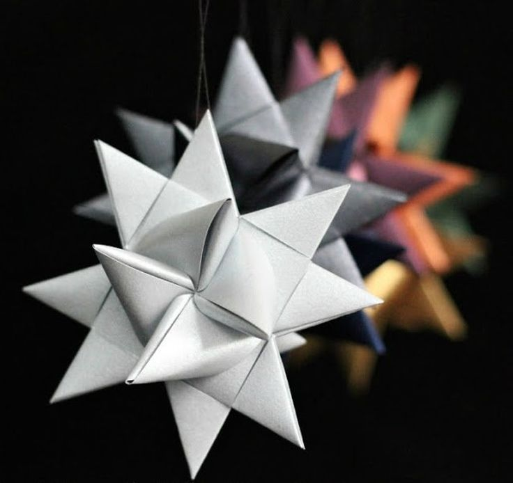 German Christmas Decorations To Make Part - 39: Handmade Holiday: 14 DIY Origami Ornaments
