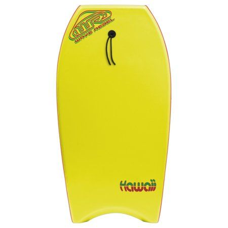 Hawaii 36 Inch Body Board, Yellow