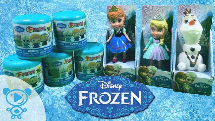 Disney Frozen die Eiskönigin Spielzeug & Fashems auspacken Elsa Anna Ola...