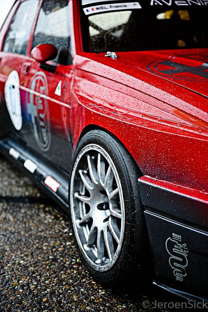Alfa Romeo 75 IMSA by Jeroen Sick, via Flickr  #alfa #alfaromeo #italiancars @automobiliahq