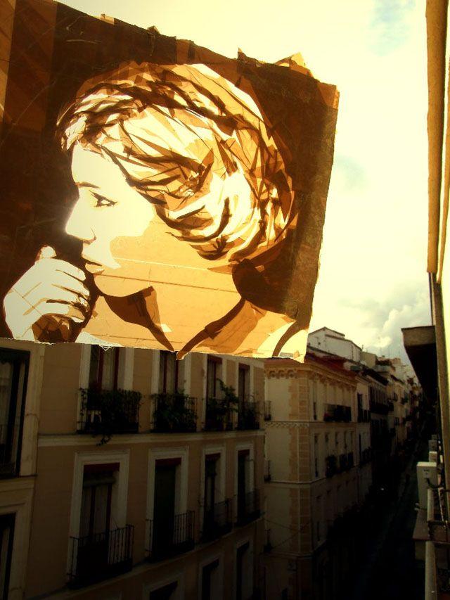 kuhles tape art wohnzimmer am besten images der ecddebfe tape art street artists