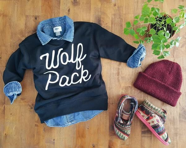 Wolf Pack kids pullover sweatshirt, cool kids clothes, hip kids shirts, hipster kids, modern kids clothes, trendy kids t, graphic kids tees by ArrowFolkCo on Etsy https://www.etsy.com/listing/542349624/wolf-pack-kids-pullover-sweatshirt-cool