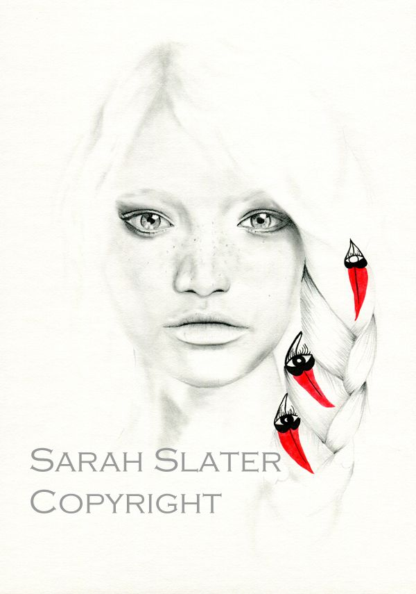 Desert Pea Child - Sarah Slater Illustration - Prints available soon at www.sarahslater.com.au