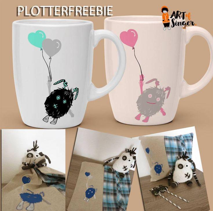 plotter file free plotter freebie plotter datei kostenlos monster birthday geburtstag luftballon balloon