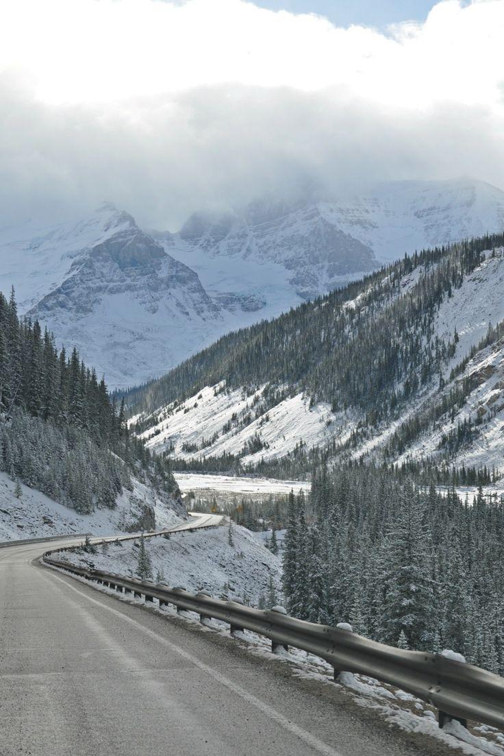 Planning a trip to Banff National Park, you should check out Jasper National Park too!  | #jasper #jaspernationalpark #Athabascafalls #canadianrockies