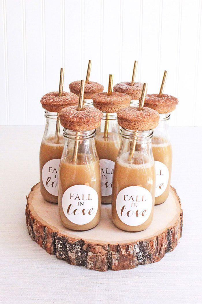 Diy Fall Wedding Desserts And Decor Autumn Weddings Pinterest