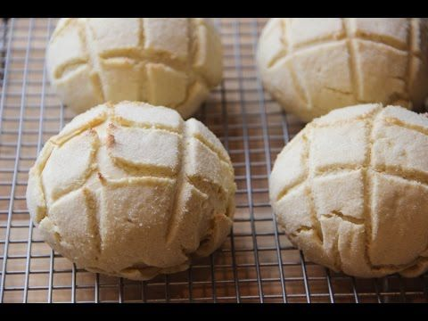 Melon Pan Recipe - Japanese Cooking 101 - YouTube