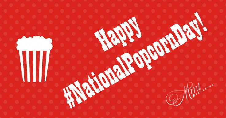 Happy #NationalPopcornDay! Some delectable options from our snack #menu are the Honey #Truffle Popcorn, Salted #Caramel Popcorn, and Chili Lime #Popcorn. These flavors are perfect for #catered #events like office happy hours, #corporate #meetings, or #barsnacks at #cocktail #receptions - served in individual snack bags or bowls for sharing. And let's face it, popcorn is just fun!