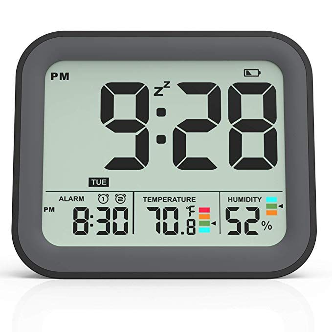 Battery Operated Digital Alarm Clocks