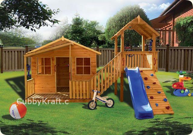 Kimba Castle Diy Wooden Playhouse Cubby House Kimba