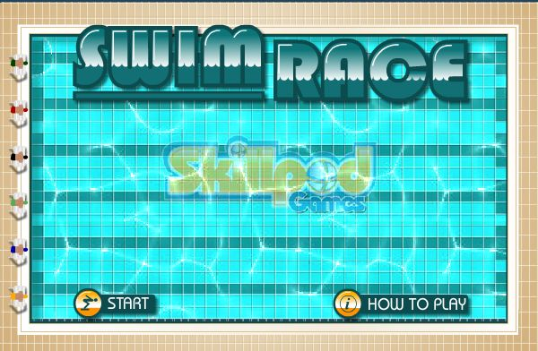 Swim your race to success in this stunning game!