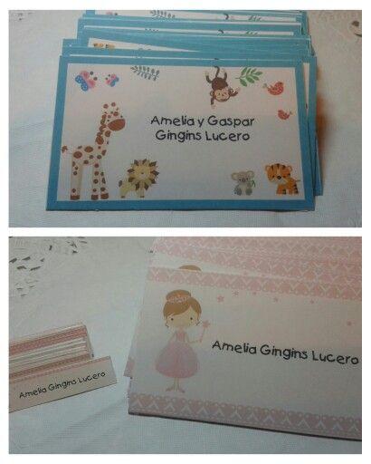 Personales + Stickers personalizados para útiles escolares